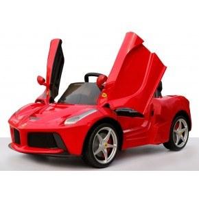 Ride ons Ferrari 82700, rød - Med fjernbetjening.