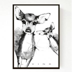 Livink Poster A4 u. ramme - Bambi 2