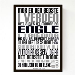 Livink Poster A4 u.ramme - Mor