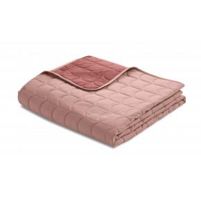 Flexa quilt sengetæppe 200x230 cm. - misty rose