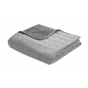Flexa quilt sengetæppe 200x230 cm. - mountain grey