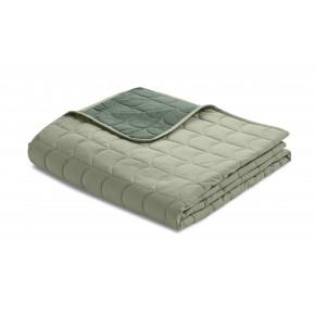 Flexa quilt sengetæppe 200x230 cm. - moss green