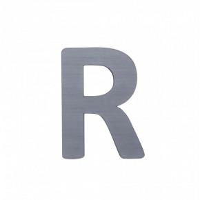"""Sebra Bogstav """"R"""" - Grå"""