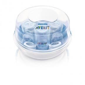 PHILIPS AVENT Damp t/ mikrobølgeovn 4 fla. Sterilisator