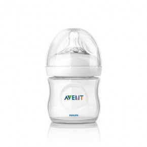 PHILIPS AVENT NATURAL, 125 ml, nyf. 1 stk. Sutteflaske