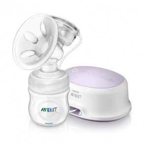 Philips Avent Natural elektrisk brystpumpe m/125 ml fl SCF33201