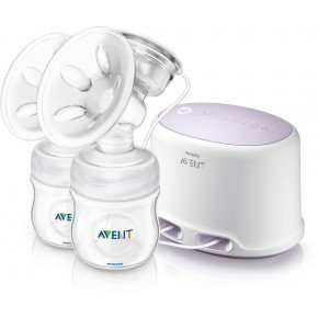 Philips Avent Brystpumpe Elektrisk Natural Twin SCF33402