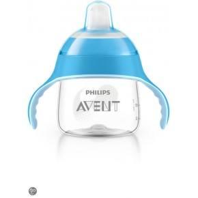 Philips Avent Premium kop m/drikketud 200ml. blå Kop