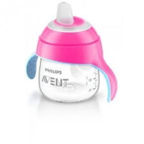 Philips Avent Premium kop m/drikketud 200 ml. pink