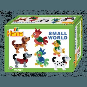 Hama Midi Gaveæske - Small World hunde/fugle