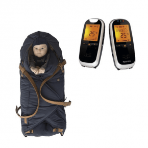 Neonate BC6500D Babyalarm + Sleepbag - Midnight Petrol