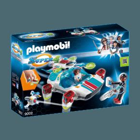 FulguriX med Agent Gene (9002) - Playmobil