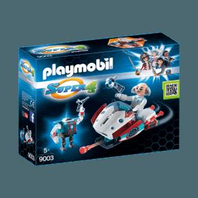 Skyjet med Dr. X & Robot (9003) - Playmobil