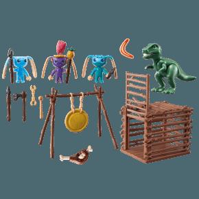 Alien Krigere med T-Rex fælde (9006) - Playmobil