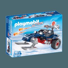 Is Pirat med Snemobile (9058) - Playmobil