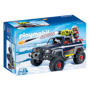 Is Pirater med snetruck (9059) - Playmobil