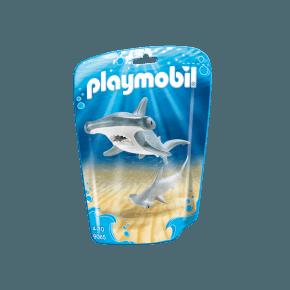Hammerhaj med unge (9065) - Playmobil