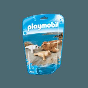 Sæl med sælunger (9069) - Playmobil