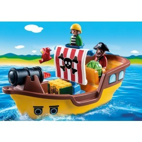 Piratskib (9118) - Playmobil 1.2.3