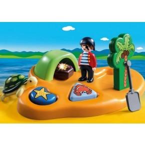 Pirat Ø (9119) - Playmobil 1.2.3