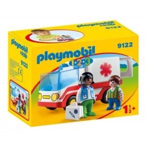 Ambulance (9122) - Playmobil 1.2.3