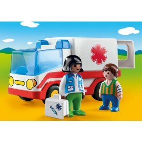 Ambulance (9122) - Playmobil 1.2.3