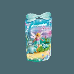 Fe pige med vaskebjørne (9139) - Playmobil