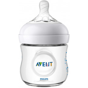 Philips Avent Natural 2.0, 125 ml Sutteflaske til Nyfødte