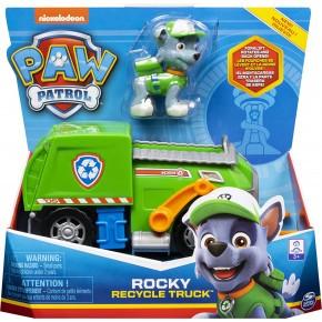 Paw Patrol genbrugsbil m. Rocky - 6056861
