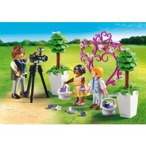 Blomsterbørn og fotograf (9230) - Playmobil