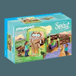 Playmobil Horse Box Pru and Chica Linda - 9479