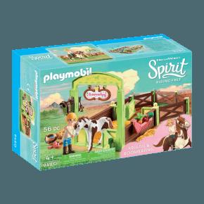 Playmobil Horse Box Abigail and Boomerang - 9480