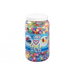 Pastel mix 1400 stk. - Hama Maxi