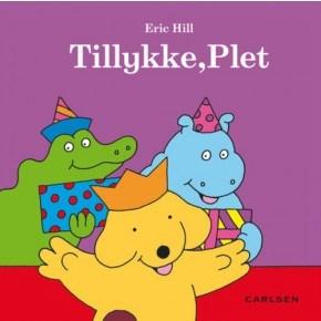 Carlsen Tillykke, Plet! Bog