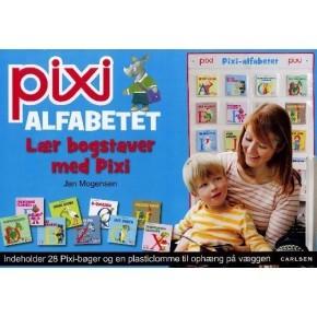 Carlsen Pixi-alfabetet - Lær bogstaver med Pixi