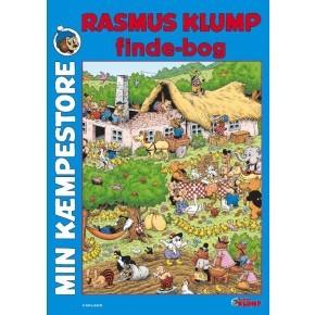 Carlsen Min kæmpestore blå Rasmus Klump finde-bog