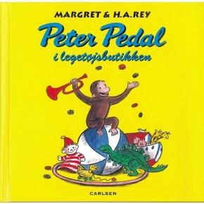 Carlsen Peter Pedal i legetøjsbutikken