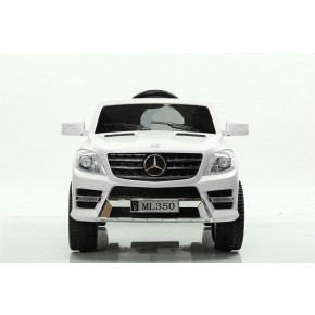 Ride Ons Mercedes ML350 - Hvid - Med fjernbetjening