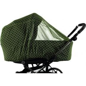 Småfolk Myggenet til barnevogn - Aspen Green