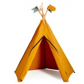 Roommate Hippie Tipi legetelt - Yellow Ochre