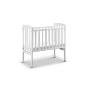Tiny Republic Adam Bedside Crib Babyseng - Hvid
