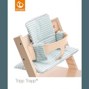 Stokke Tripp Trapp Hynde - Aqua Stripes