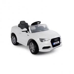 Ride Ons Audi A3 - Hvid - Med fjernbetjening.
