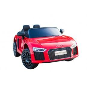 Rideons Audi R8 Spyder - rød med fjernbetjening