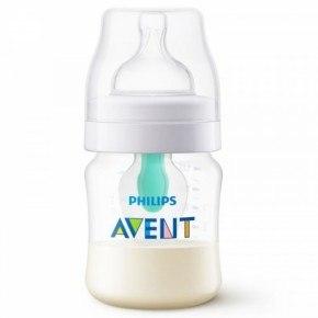 Philips Awent Anti-Colic-Ventil Sutteflaske 125ml - Gennemsigtig