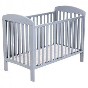 BABY DAN Alfred baby seng 60x120 cm, grå