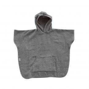 BabyDan Poncho (1-2 år) – dusty grey