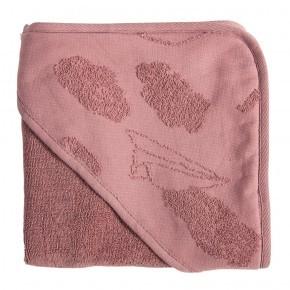 Sebra hættehåndklæde In The Sky - Vintage Rosa