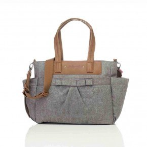 Babymel Pusletaske, Cara - Bloom Grey