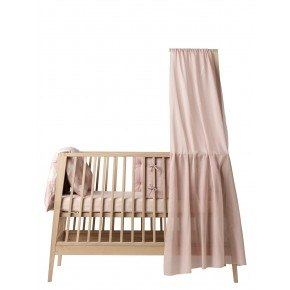 Linea himmel til babyseng - Soft Pink